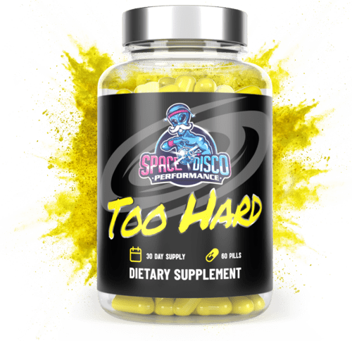 Space Disco Performance TOO HARD Reformulated Male Enhancement Supplement
